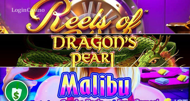 Slots Review: Reels of Wealth, Dragon's Pearl and Malibu