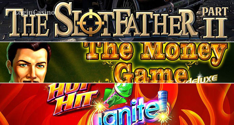 Review of Slot Machines The Slotfather: Part II, The Money Game Deluxe and Hot Hit Ignite