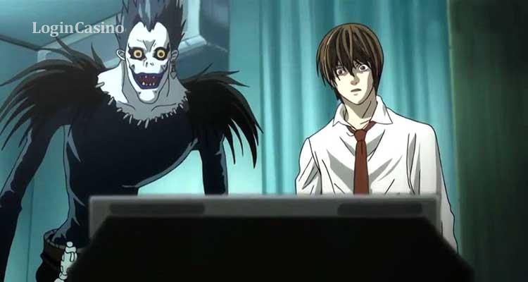 Death Note the gambling anime
