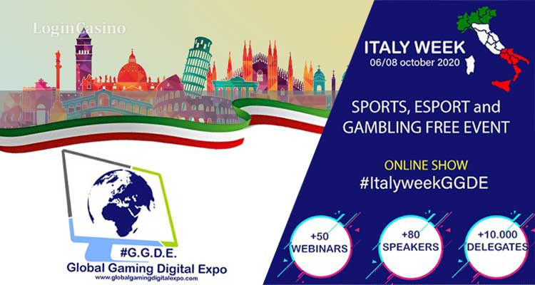 Italy Week: The First Virtual Expo Dedicated to Gambling in Italy