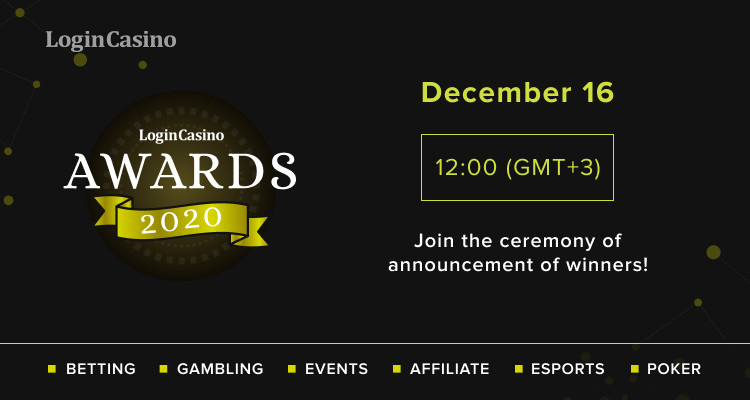 Login Casino Awards 2020 Winners to Be Known on December 16